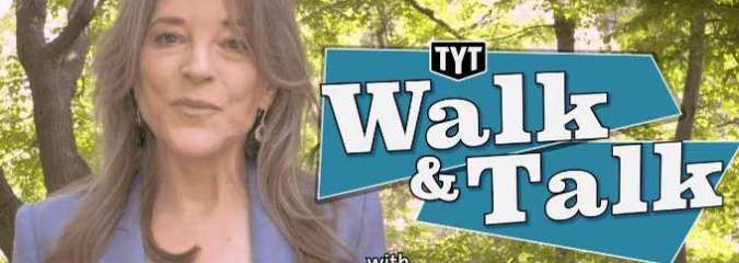 Walk & Talk Q&A With Marianne Williamson [Awesome 5-Min Video!]
