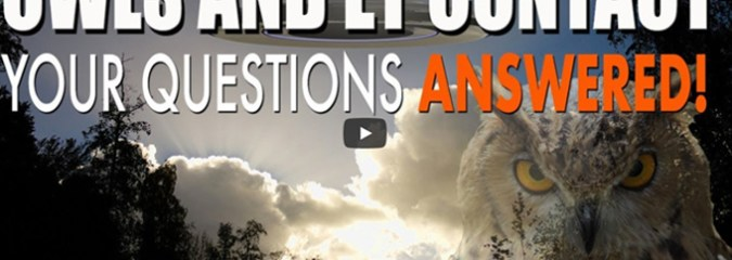 Owls and Alien Abduction – More Questions Than Answers!