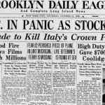 Three Things You Didn't Know About The Crash of 1929