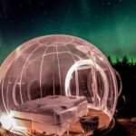 Dreamy 'Bubble Hotels' Let You Sleep Under the Starry Night Sky or Dancing Northern Lights