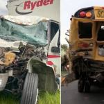 Truck Driver Dies a Hero After Spending His Last Breath Rescuing Kids From School Bus Crash