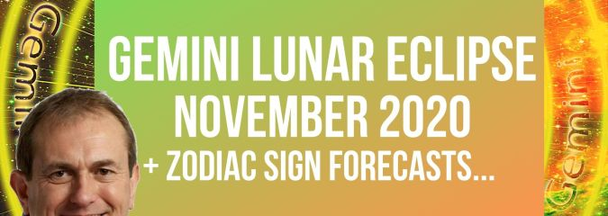 Gemini Lunar Eclipse + Zodiac Sign Forecasts…