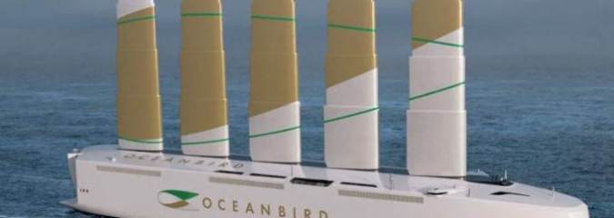 Cargo Ships Powered By Wind Could Cut Emissions By A Huge 90%