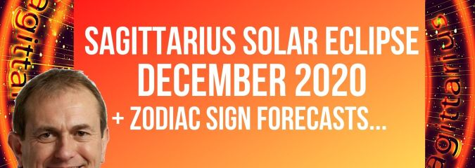 Sagittarius Solar Eclipse 14th December 2020 + Zodiac Sign Forecasts