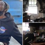 Homeless Man Hailed as Hero After Rushing Into Burning Building to Rescue 16 Dogs and Cats