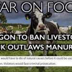 Oregon Bill to BAN Livestock: Stunning War on Farming/Ranching
