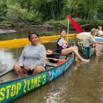 Water Protectors Protesting at Willow River Warn Line 3 'Is a Catastrophic Threat'