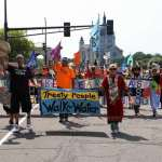 Nearly 70 People Arrested for Resisting Line 3 at Rally Outside Minnesota Governor's Mansion