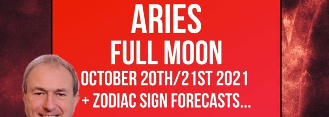 Aries Full Moon – 20th/21st October 2021 + FREE Zodiac Forecasts