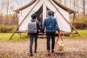 WATCH: Glamping in the Great Outdoors