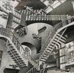 "M.C. Escher – Creating The ""Snakes"" Woodcut"