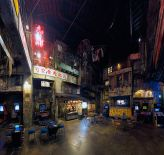 Kowloon_Walled_City_Kawasaki Warehouse, a former Japanese game arcade with a Kowloon Walled City theme