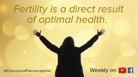 Anne Lane ~ Conscious Preconception Program ~ fertility meme quote