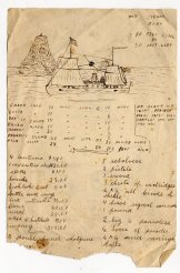 Untitled map, verso
