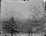 A view from the window of 30 South College, 1896