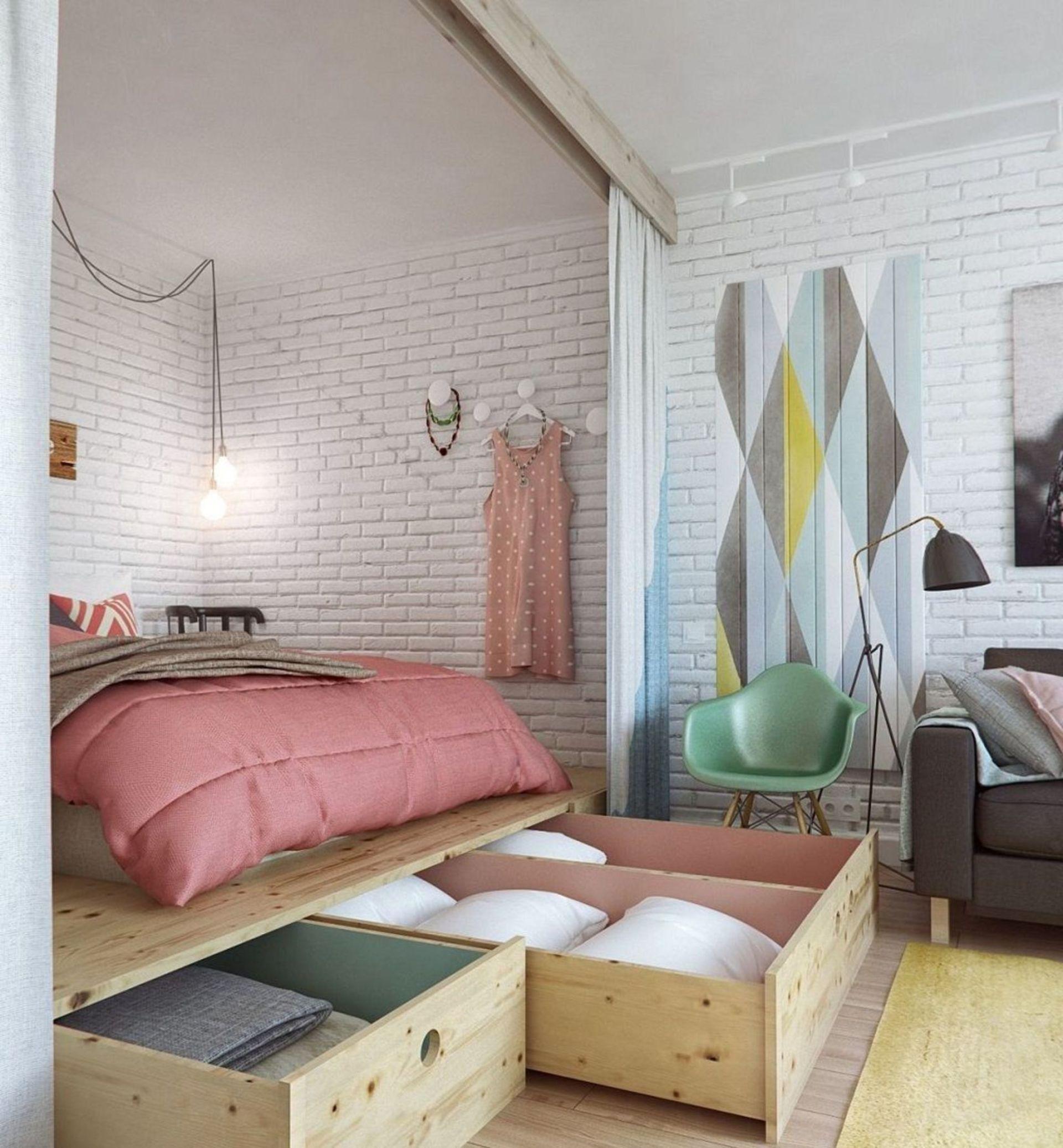 17 conseils pour aménager une petite chambre  Conseil Déco