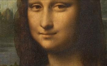 Sourire à peine esquissé ne découvrant pas les dents:Monalisa.