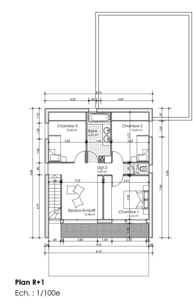 largeur minimum wc dans salle de bain home page. Black Bedroom Furniture Sets. Home Design Ideas