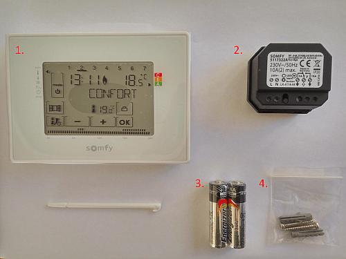 Test Des Nouveaux Thermostats Programmables Somfy Conseils Thermiques