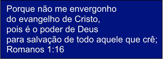 Romanos25201.16 - Jesus não é papai noel