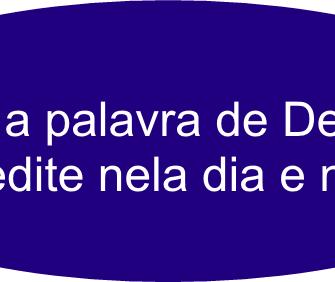 leiaaPalavra 1 - Refletindo em sua Palavra.!!!!