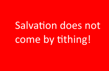 Heresies about tithing