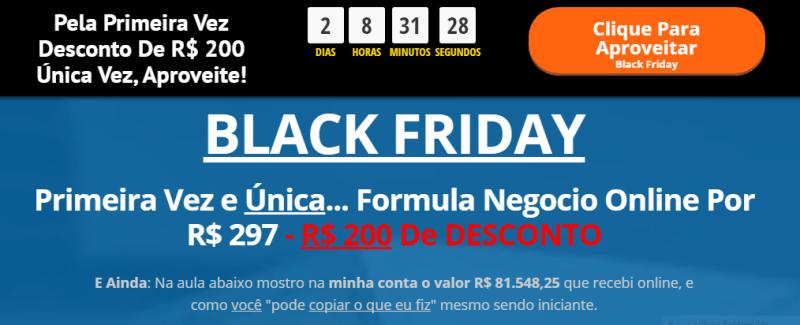 Formula Negócio Online - BlackFriday