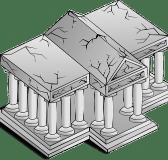 Templo em Ruinas - Conselheiro Cristao