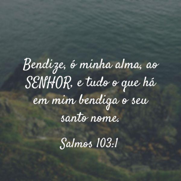 Salmos 103 Verso 1 - Palavra do Dia Em Salmos 103