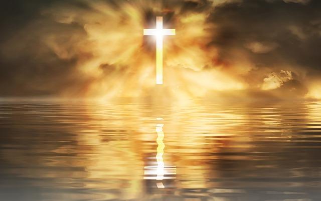 Não Deixe o Amor Morrer - Imagem da Cruz brilhante, Conselheiro Cristão