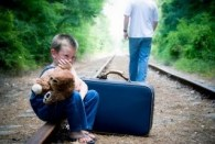 a father who is a psychopath will abandon their child