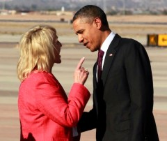 President Barak Obama with Gov. Jan Brewer (AP Photo/Haraz N. Ghanbari, File)