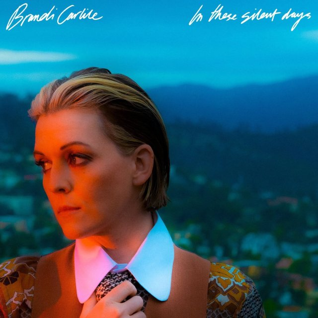 brandi carlile in these silent days right on time new album cover artwork