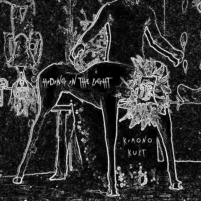 KimonoKultArtwork  John Frusciante teams up with Omar Rodríguez López for new band Kimono Kult