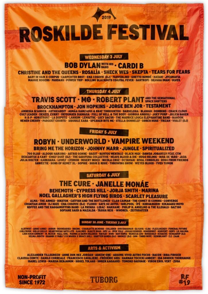 Roskilde 2019 lineup