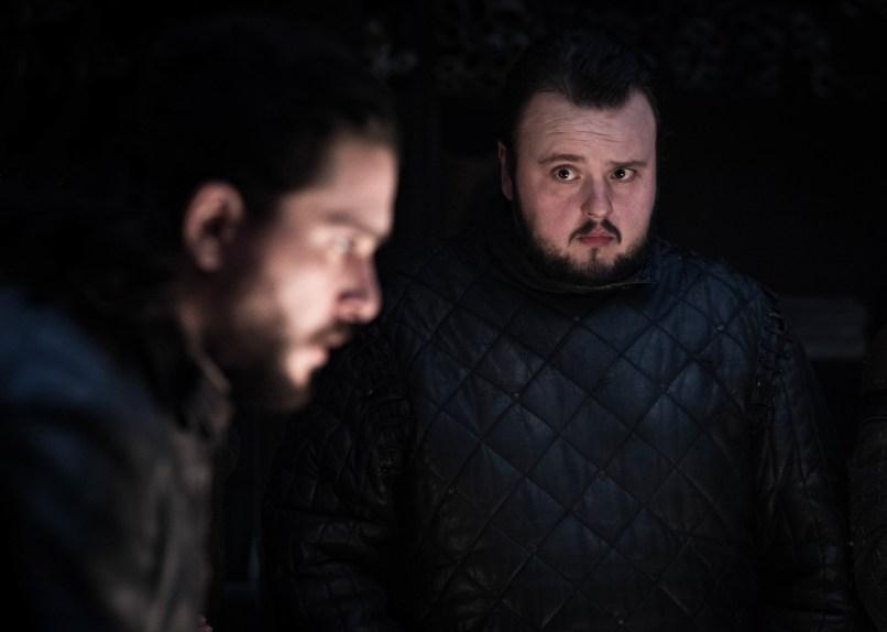 Jon Snow, Sam Tarly, Il Trono di Spade, HBO