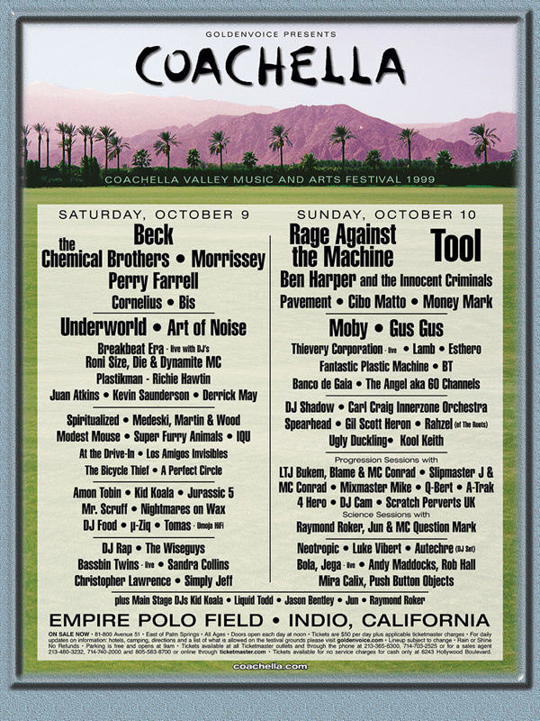 coachella 1999 600x800 20 Moments That Made Coachella What It Is Today