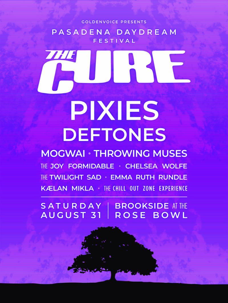 The Cure Festival Pasadena