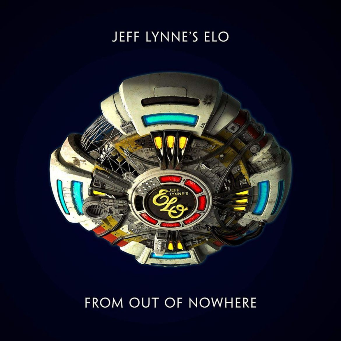 Jeff Lynnes ELO From out of Nowhere Album Cover Artwork Jeff Lynnes ELO releases new album From Out of Nowhere: Stream