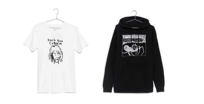 """Kurt Was Here"" apparel collection"