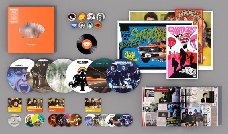 Supergrass reunion The Strange Ones 1994-2008 box set