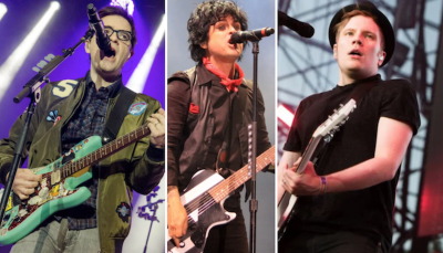 Green Day, Weezer, Fall Out Boy Announce