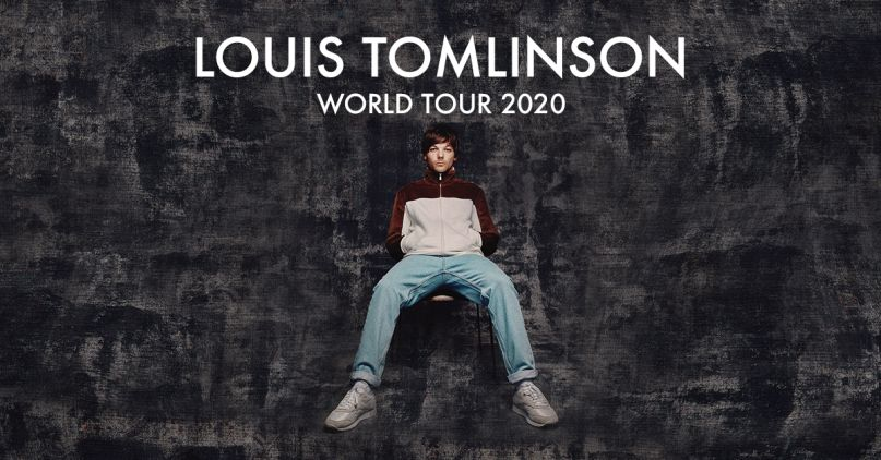 Louis Tomlinson Announces 2020 World Tour Consequence Of