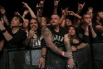 Slayer fans at final show at The Forum