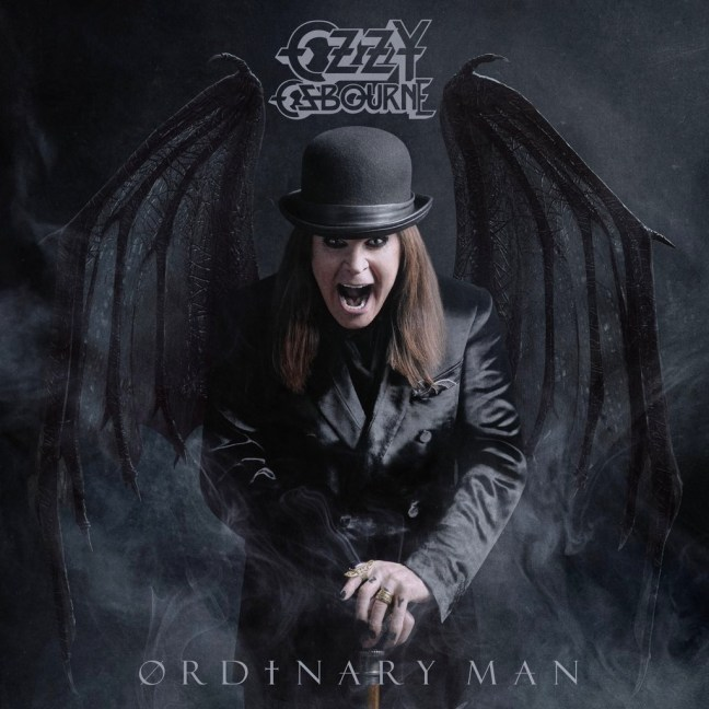 Ozzy Osbourne - Ordinary Man album artwork