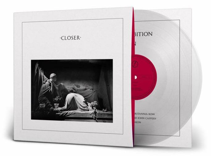 Joy Division Closer 40th anniversary reissue artwork cover vinyl1