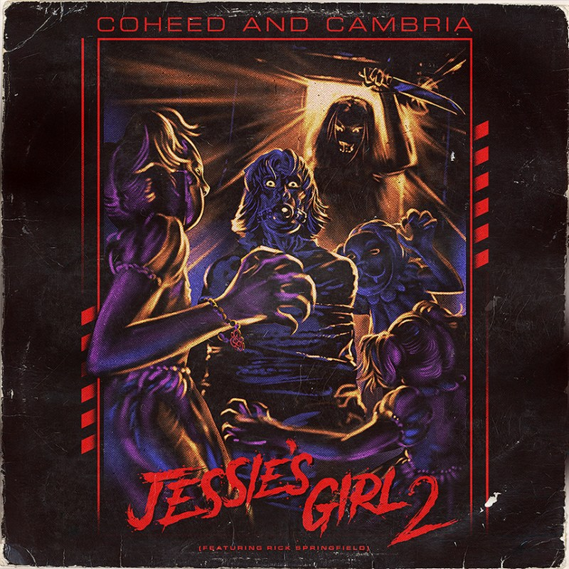 Coheed and Cambria - Jessie's Girl 2 - Single Art