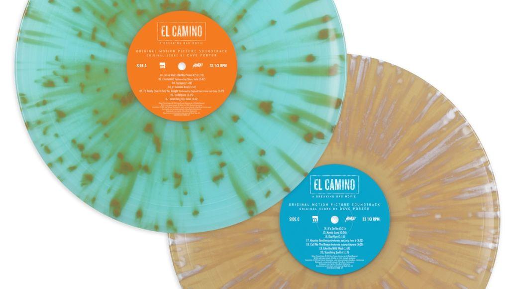 El Camino a Breaking Bad Movie soundtrack mondo vinyl