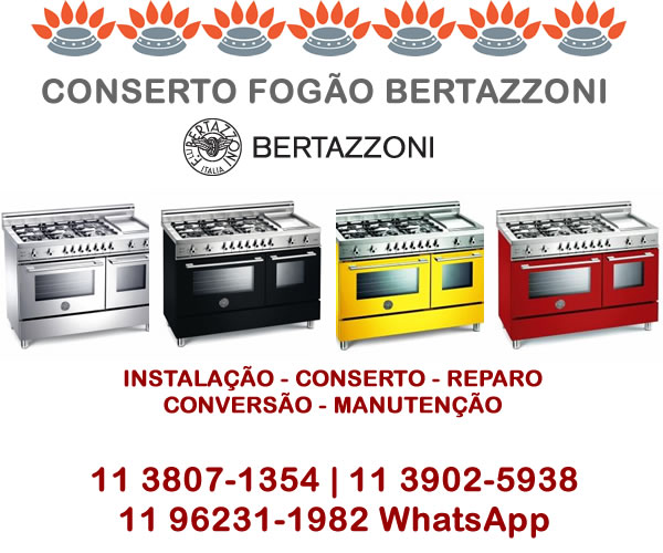 Conserto Fogão Bertazzoni