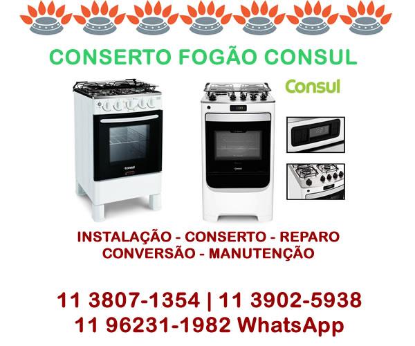 Conserto Fogão Consul